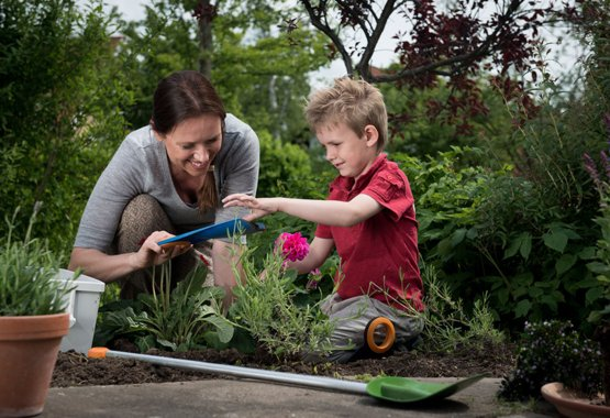 Gardening can be child's play