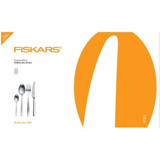 Functional Form Cutlery set, 24 pcs, matt