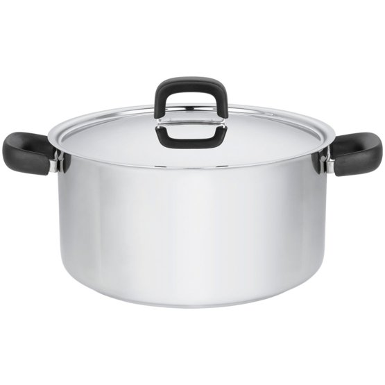Functional Form Casserole 7,0L, stainless steel - Perfect for all hobs