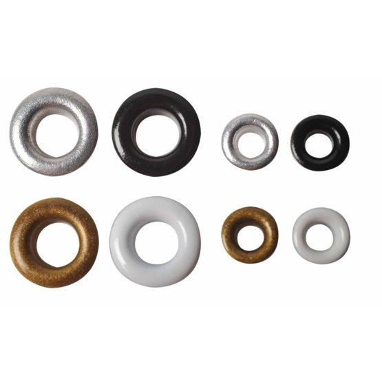 Pack of 120 eyelets