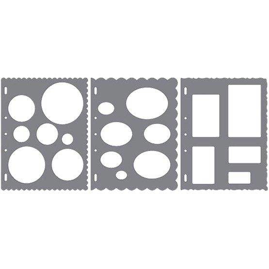 Shape Template™ - Basic Shapes (x3) Pack