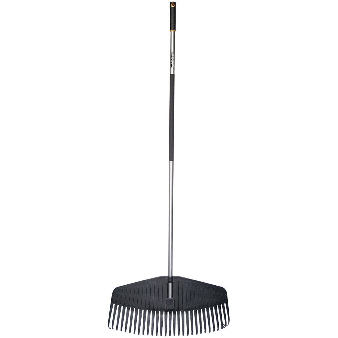 Fiskars garden light large lawn rake for Large rake garden tool