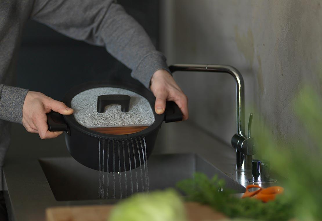 Hard Face casserole 5 L / 26 cm with lid