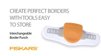 Interchangeable Border Punch Cartridge - Stars