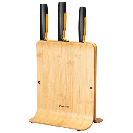 Functional Form Bamboo knife block 3 knives