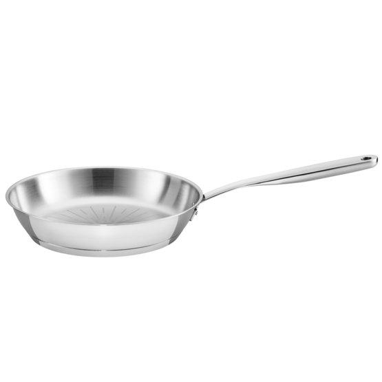 All Steel pure Frying Pan 24 cm