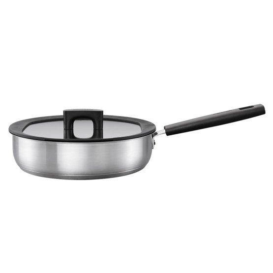 Hard Face Sauté pan 26cm/3,2L with lid, stainless steel