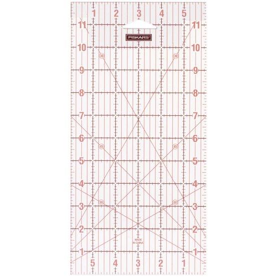 Acrylic Ruler - 6''x12''