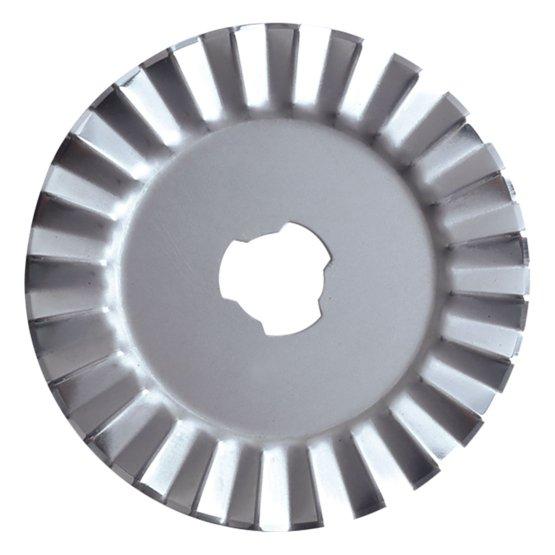 Rotary blade - Ø45mm - Pinking