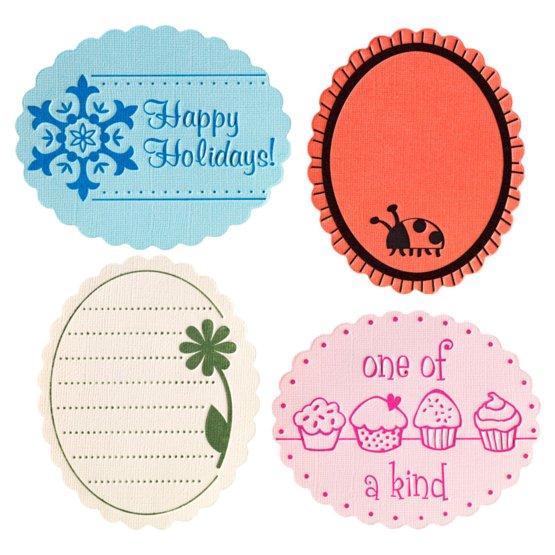 Medium Expansion Pack - Scalloped Oval