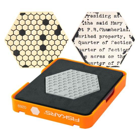 Thick material medium die  - Hexagon