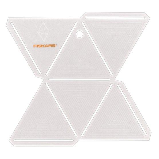 Paper Gem Diamond Template