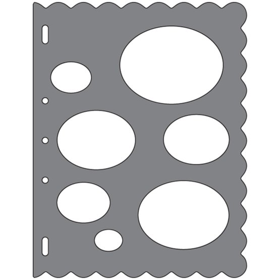 Shape Template™ - Ovals