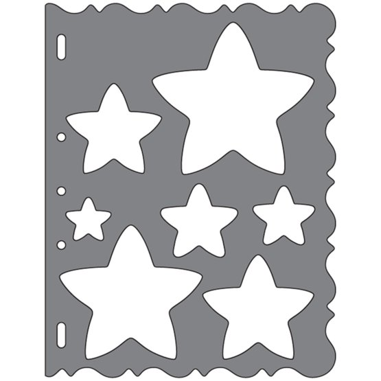 Shape Template™ - Stars