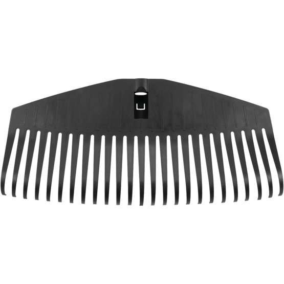 Solid Leaf Rake L head