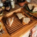 Functional Form Bamboo bread cutting board