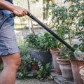 Watering wand adjustable