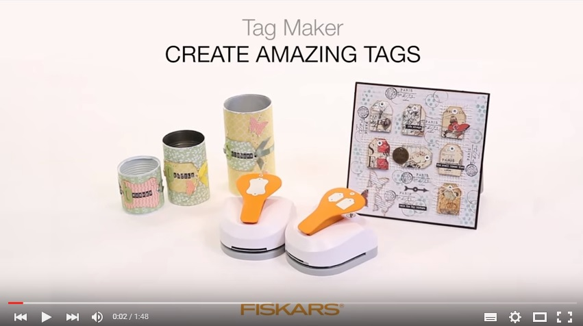 3 in 1 Tag Maker - Scallop