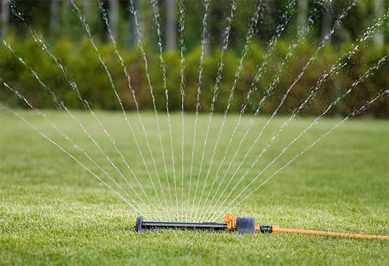 Water saving sprinkler